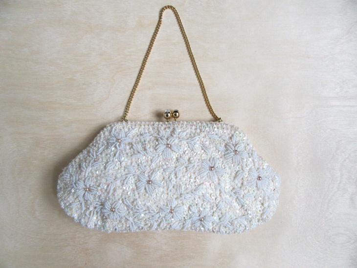 beaded sequin handbag design
