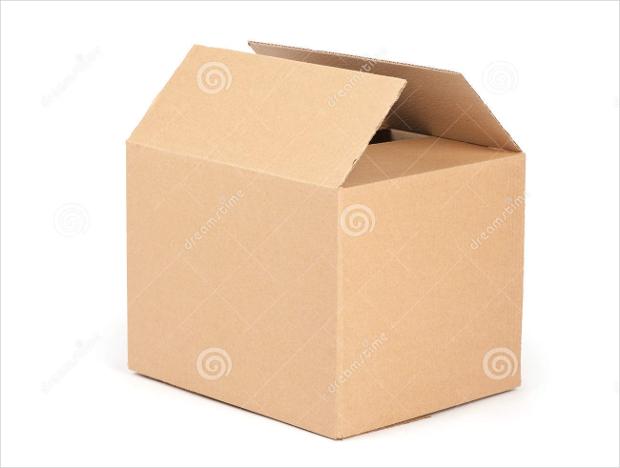 cardboard box packaging design