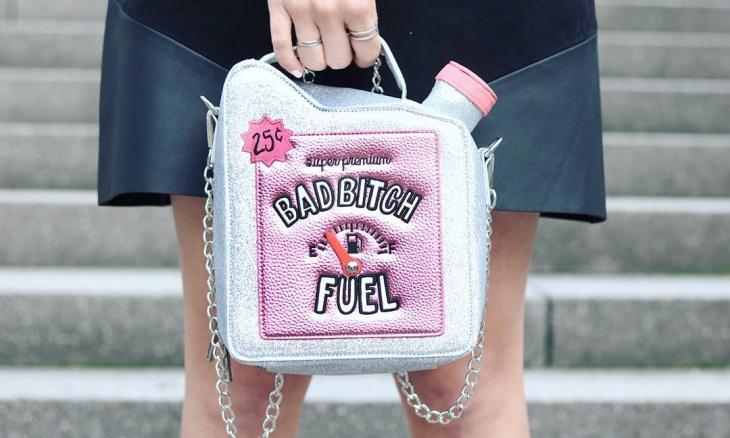 funny girl handbag
