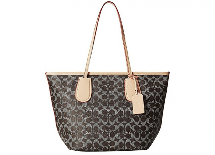 coated canvas handbag1