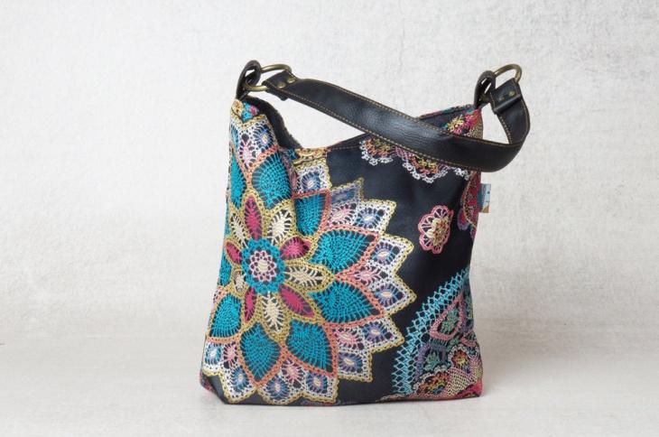 small canvas handbag design
