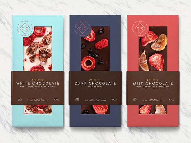 handmade chocolate packaging design