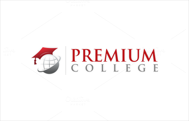 personal center college logo template