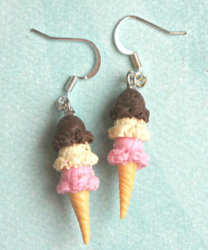 Ice Cream Scoop Earrings