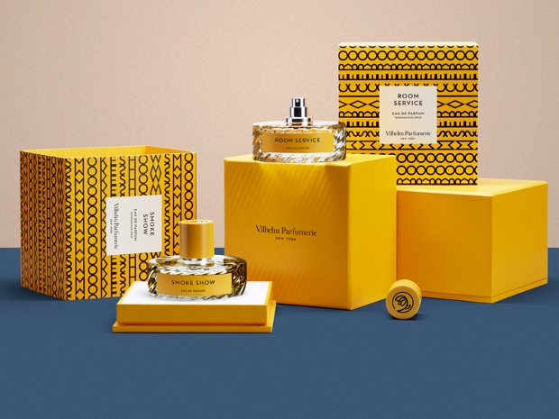 perfume bottle package design