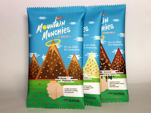 ice cream bar package design