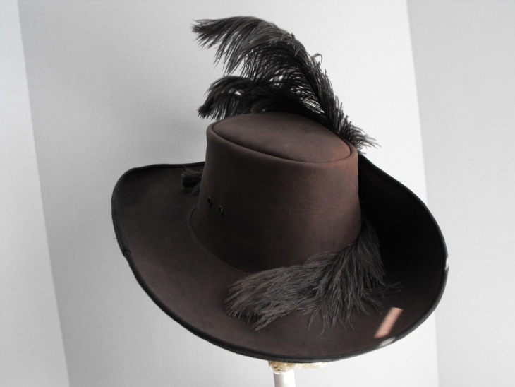 Renaissance Musketeer Hat