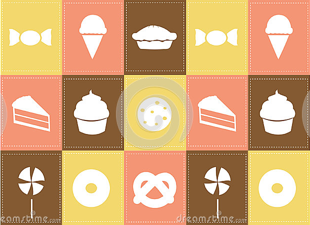 cookies and pastry icons