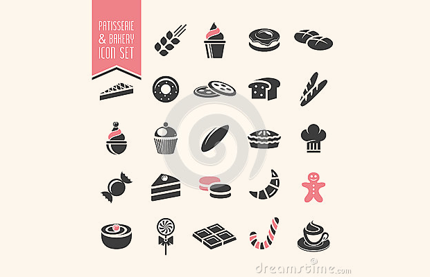 Best Pastry Icon Set