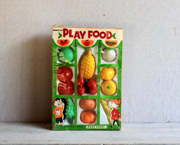 vintage food package design