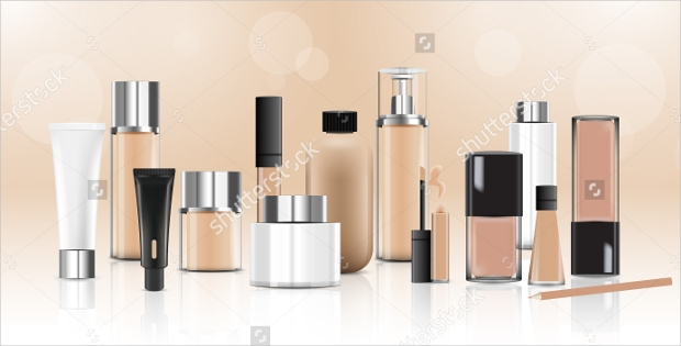 glass cosmetic package design