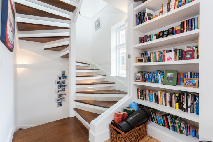 space saving winder staircase