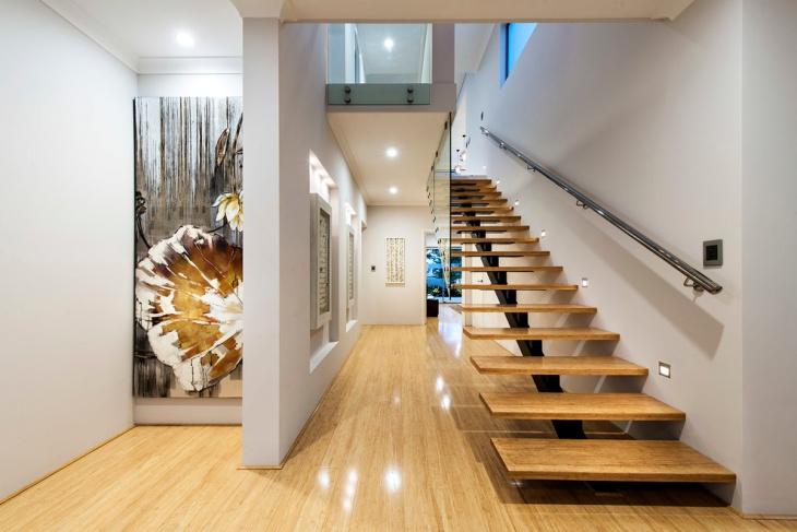External Space Saving Staircase
