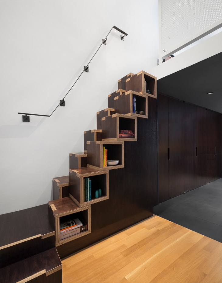 unique space saving staircase