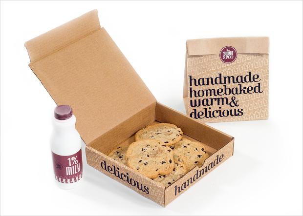 Homemade Cookies Packaging Design