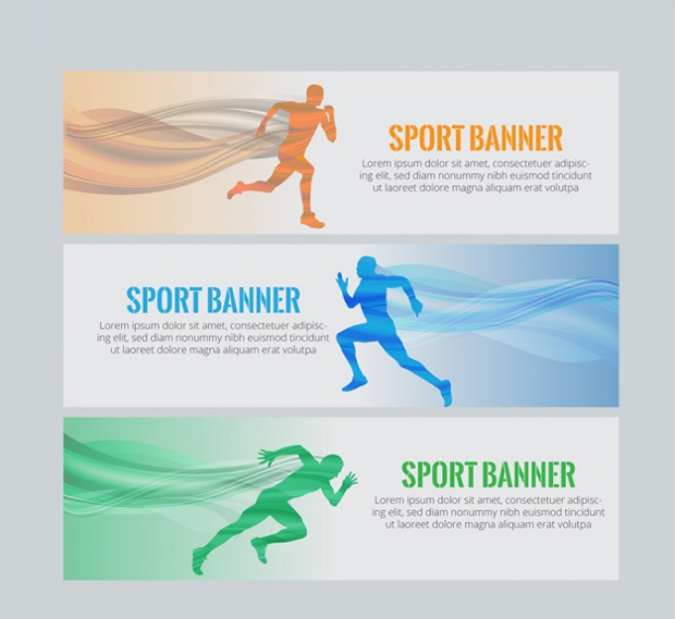 23 Sports Banners Download For Photoshop Design Trends