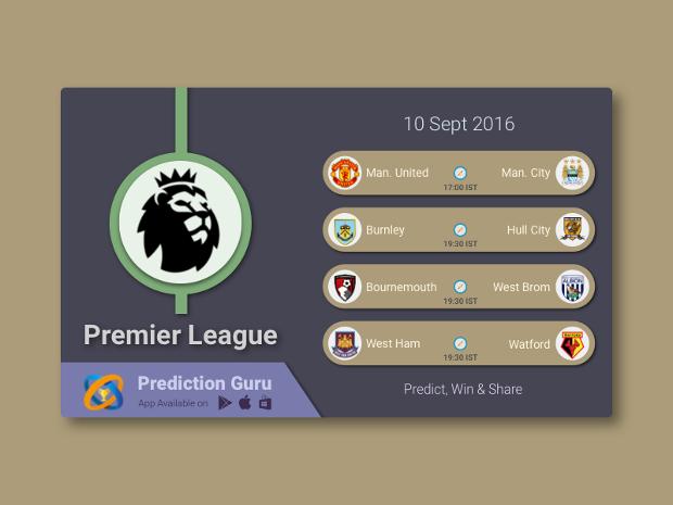 Football Schedule Banner