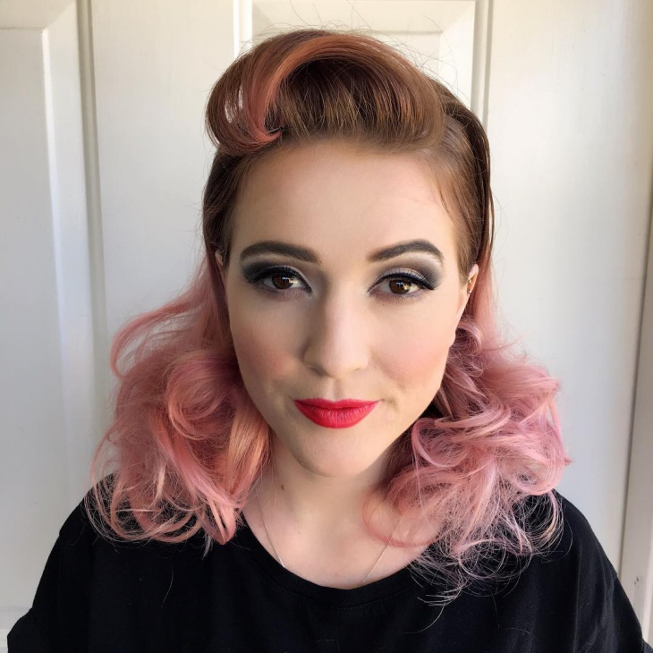 Simple Pinup Makeup Idea