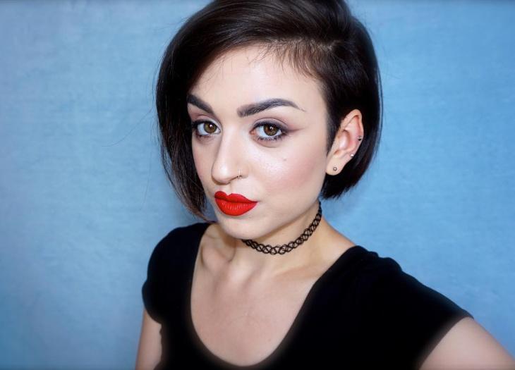 classic pinup makeup idea