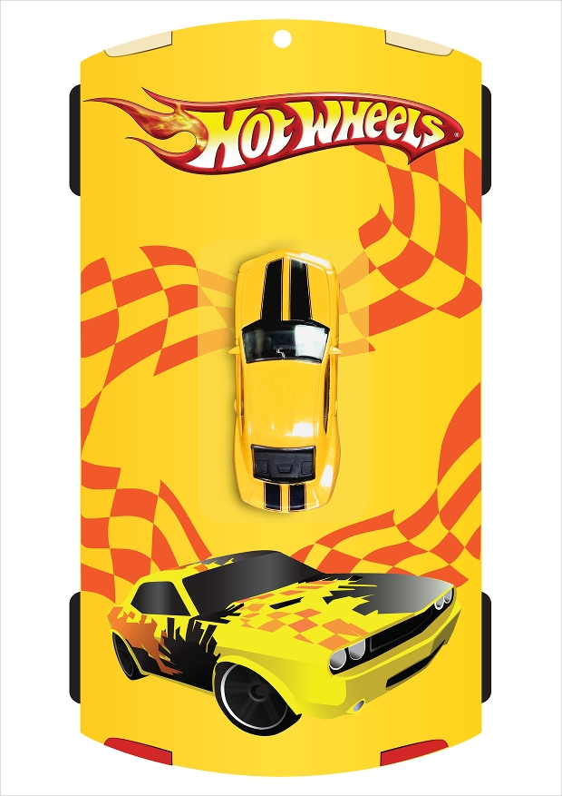 Toy Car Packaging Design