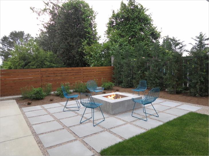 square paver patio design