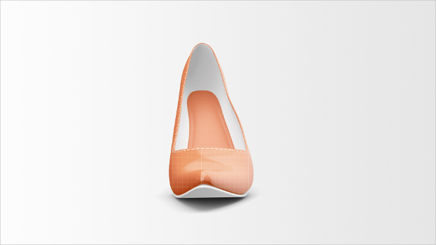 Colorful High Heels Mockup
