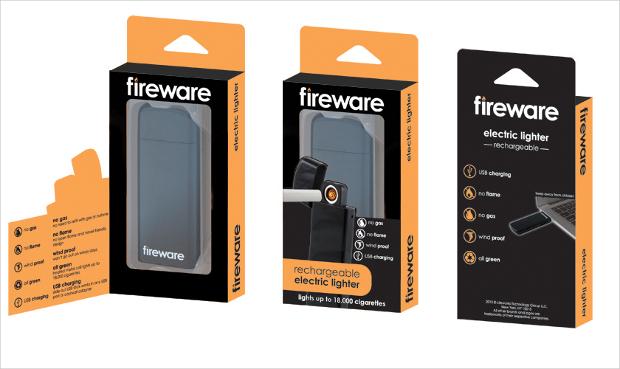 electronic lighter packaging design