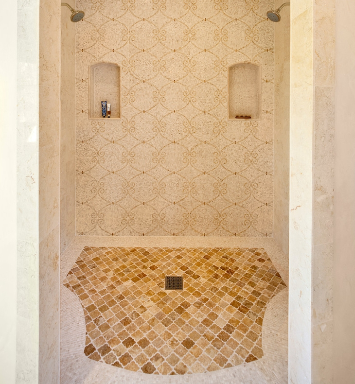 Walk in Shower Tiles Design