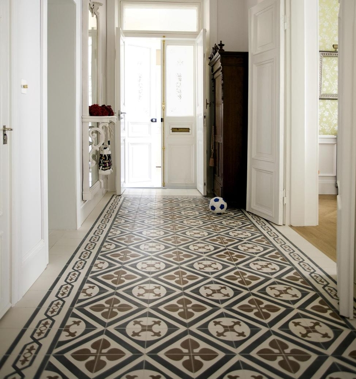 Decorative Floor Tiles Design
