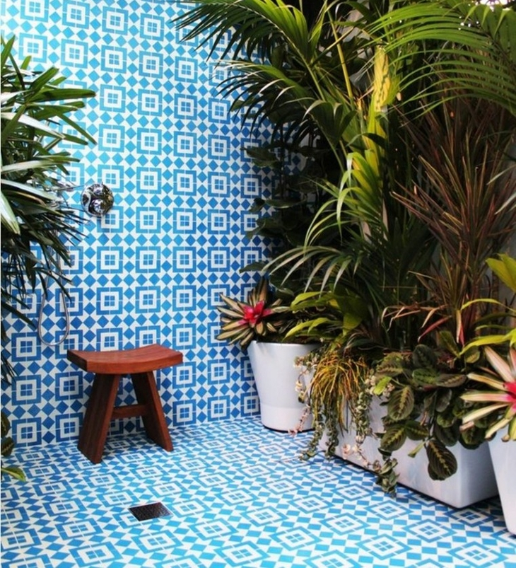Decorative Outdoor Tiles Design