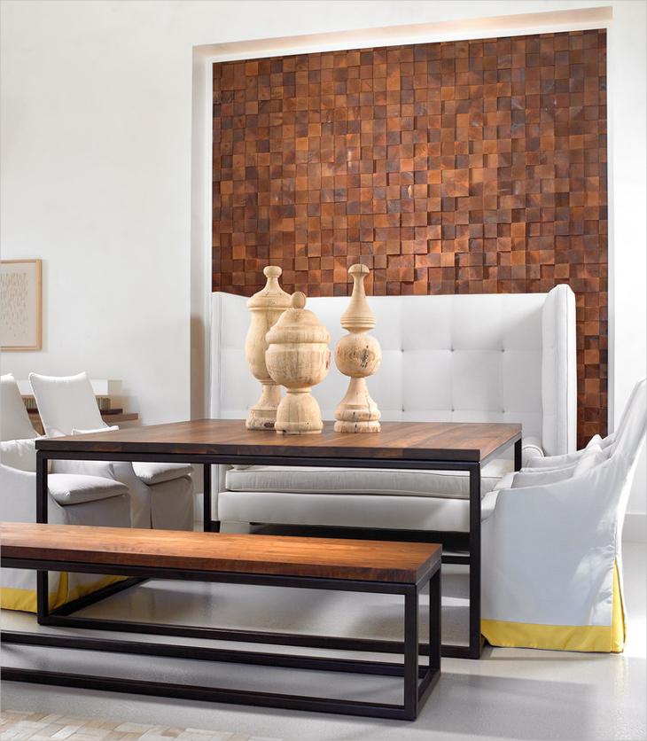 3d wood tiles design