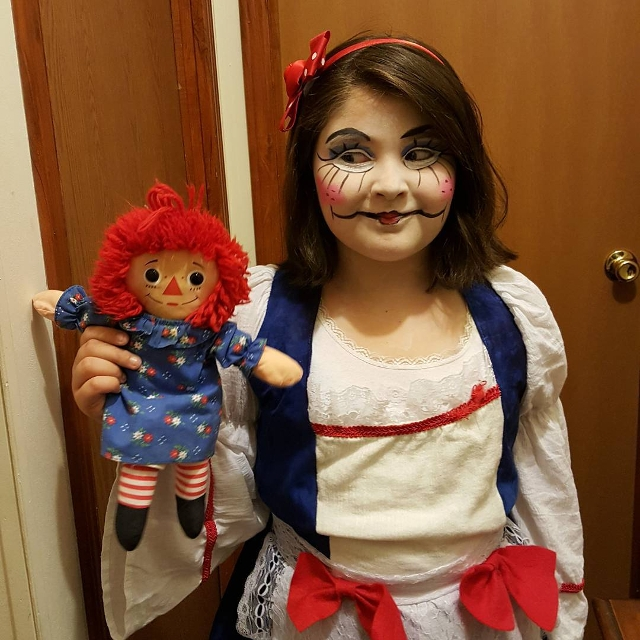 Rag Doll Costume Makeup
