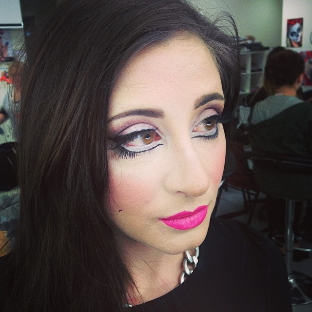 rag doll eye makeup idea