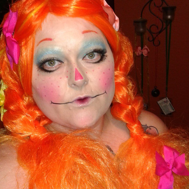 rag doll makeup for women
