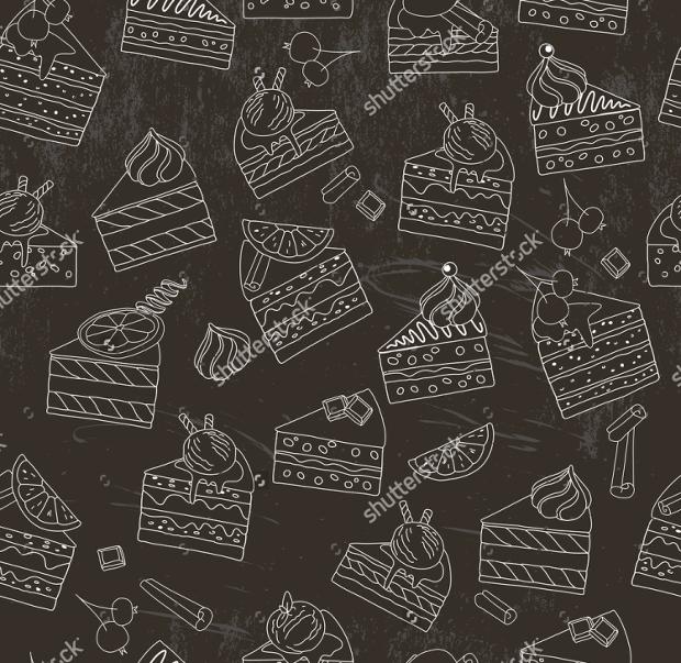 cake slice pattern