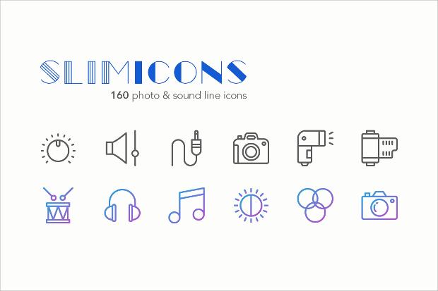 Sound Line Icons