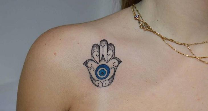 4a1b4f1c54804 21+ Hamsa Tattoo Designs, Ideas | Design Trends - Premium PSD ...