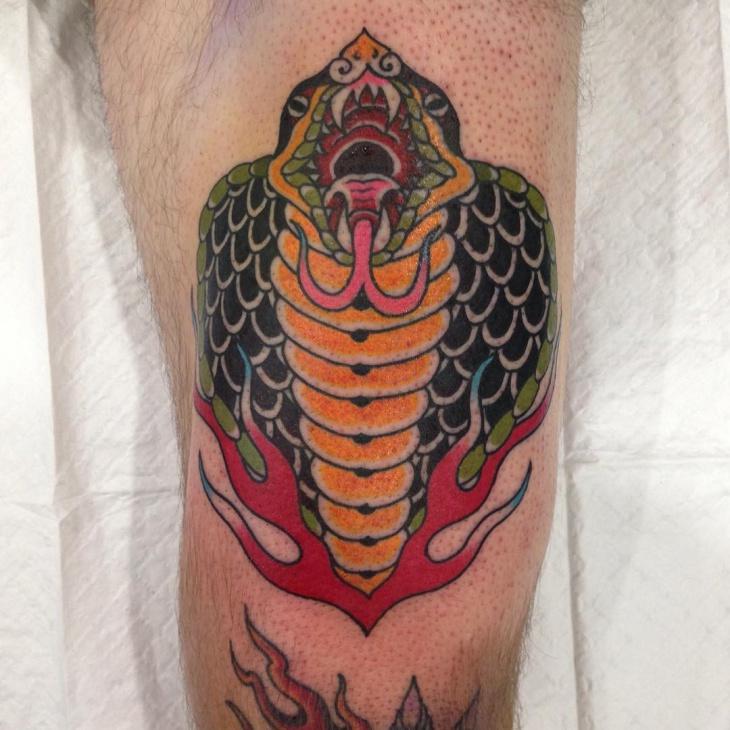 Cobra Head Tattoo