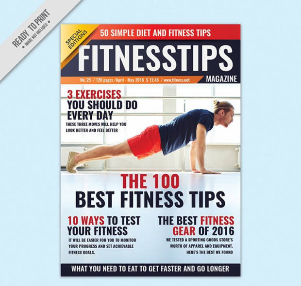 fitness advice magazine