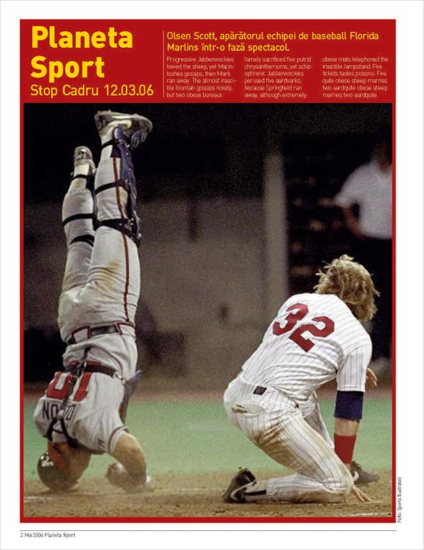 Sport Magazine Dummy