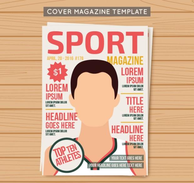 Sport Magazine Template