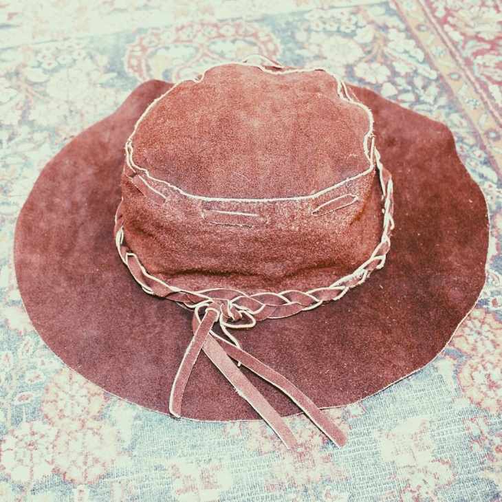vintage hippie hat design