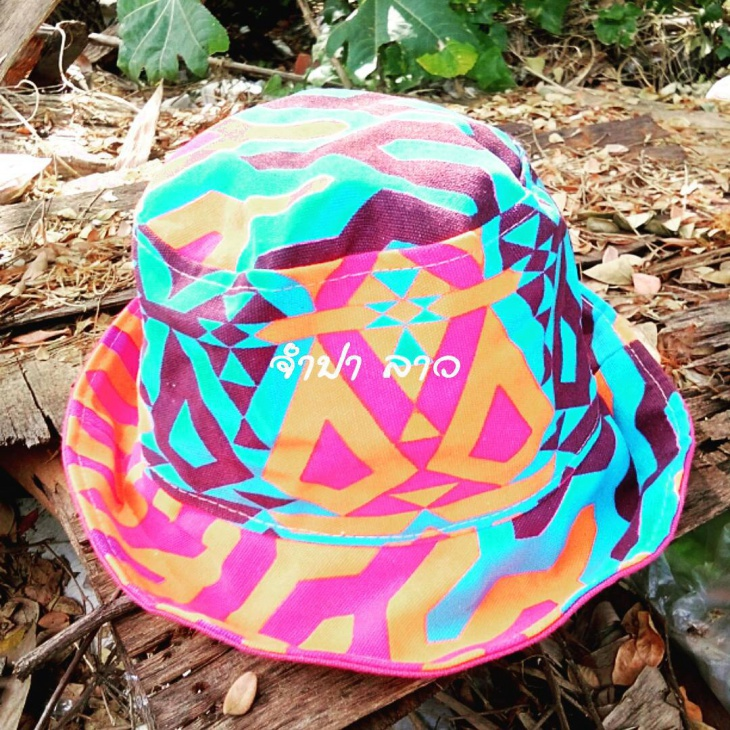 colorful hippie hat design