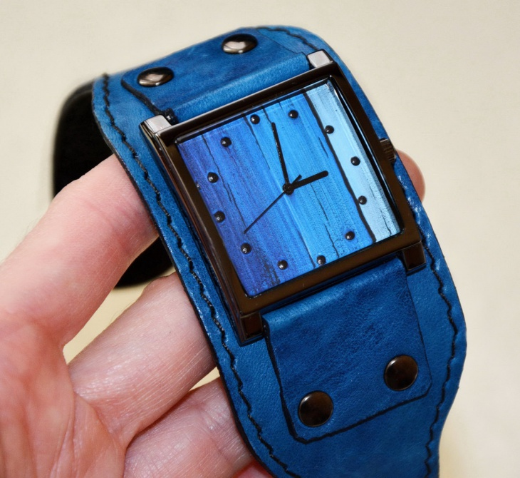Hipster Wrist Watch Design