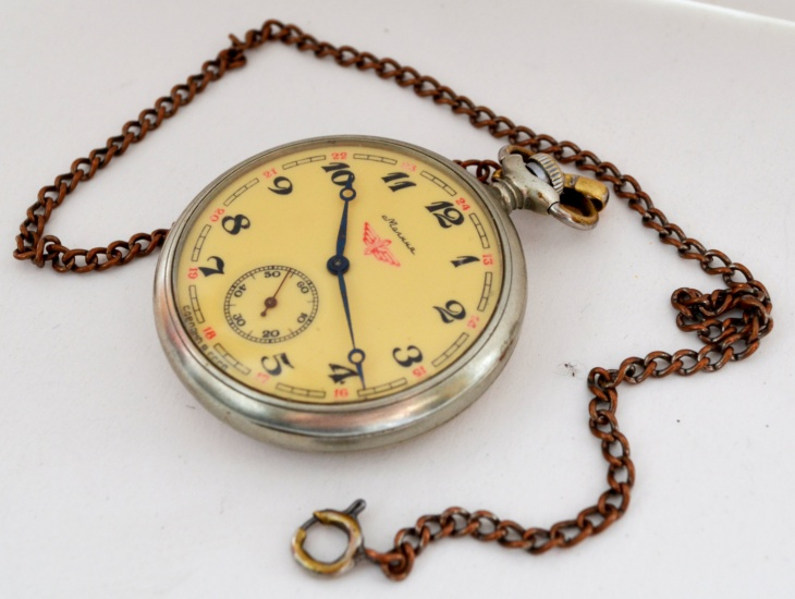 Hipster Pocket Watch
