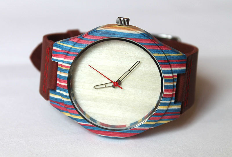 Wooden Dial Hipster Watch