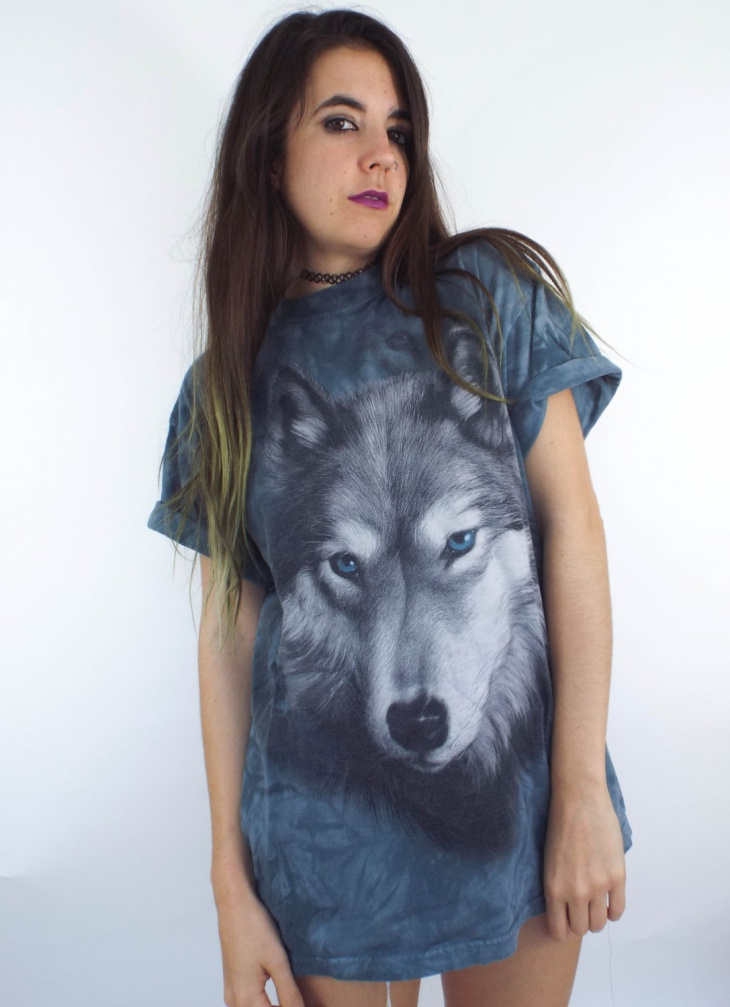 animal face t shirt