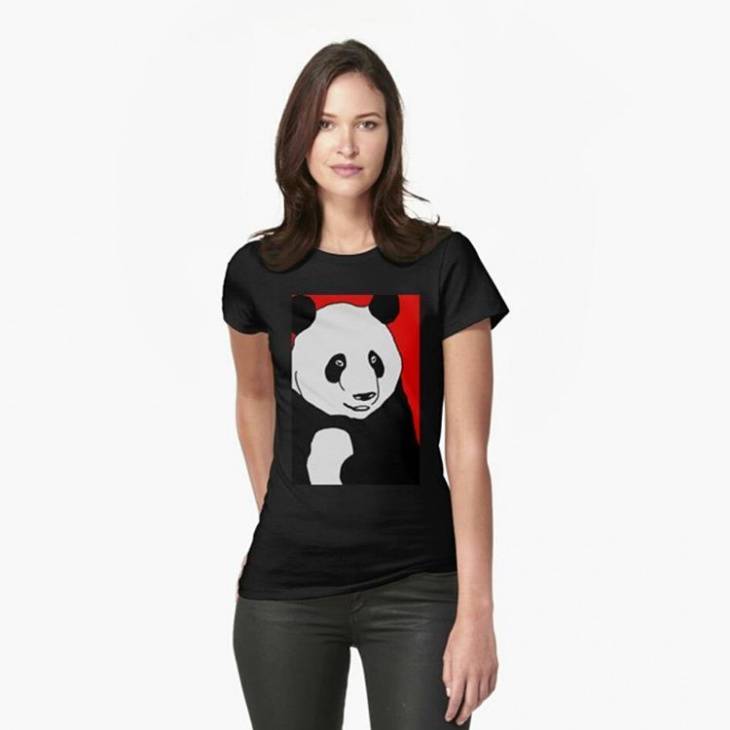 panda animal t shirt idea