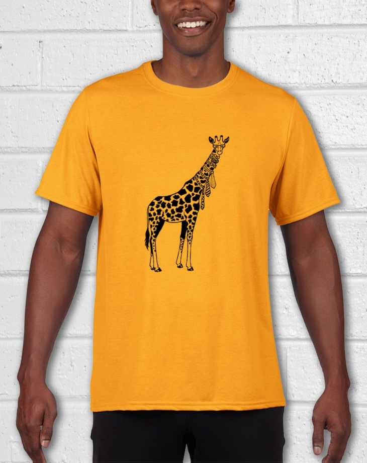 giraffe animal t shirt