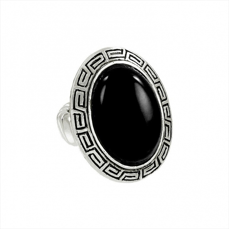 gemstone stretch ring